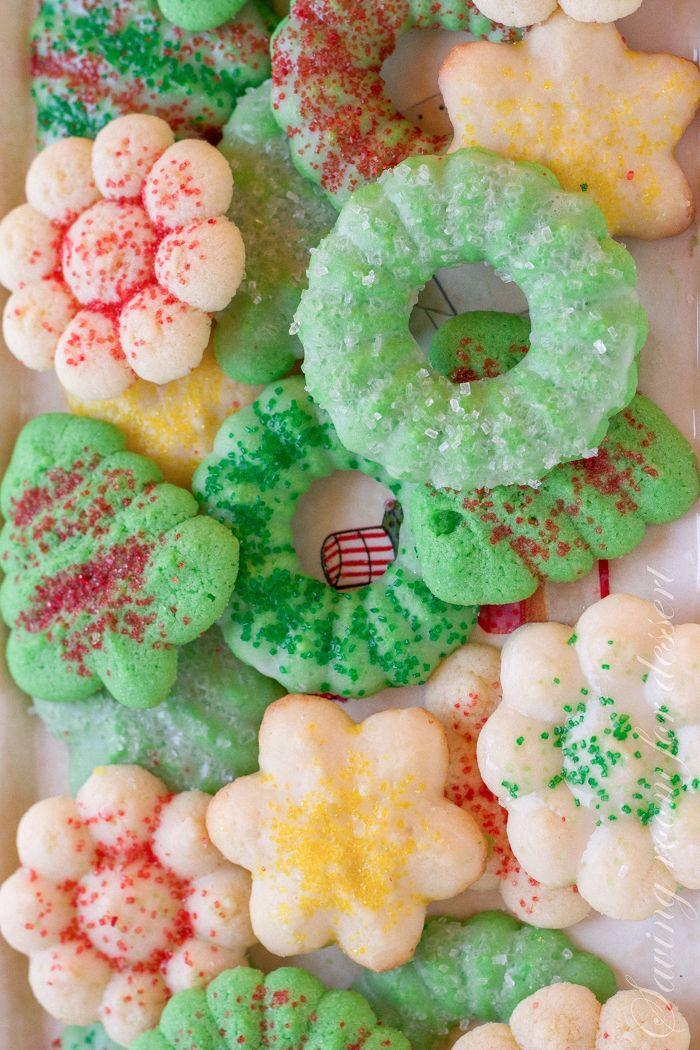 Spritz Cookies from Saving Room for Dessert Recipes Pinterest