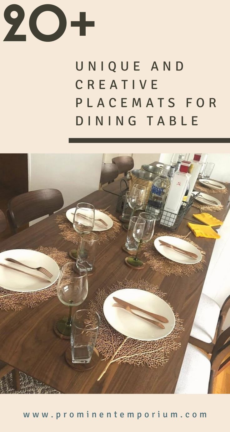 Looking For Something Unique For Your Dining Table Check Out Our