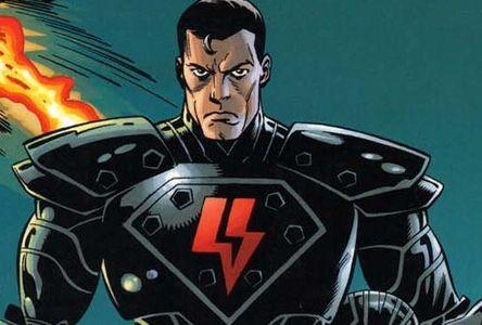 The dark side superman (if Superman had landed on Apokillips)
