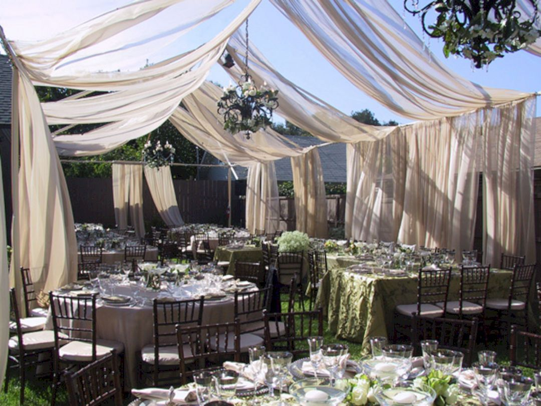 55 Best Backyard Wedding Decoration Ideas On A Budget