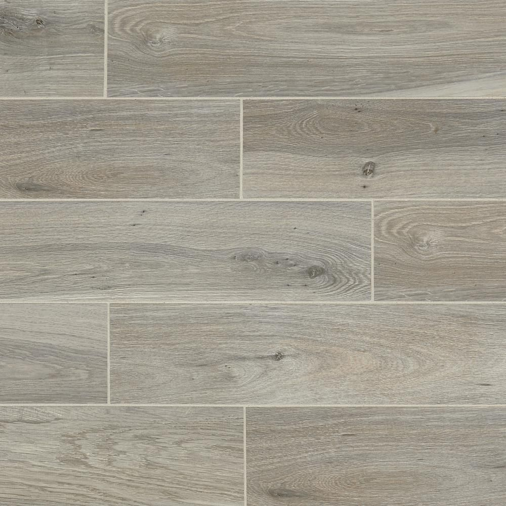 Daltile EverMore Ember Wood 6 in. x 24 in. Porcelain Floor