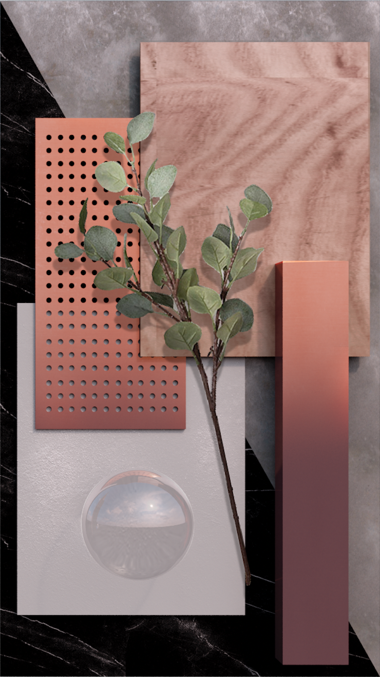 Take a look to the moodboards and feel the inspiration come in to ...