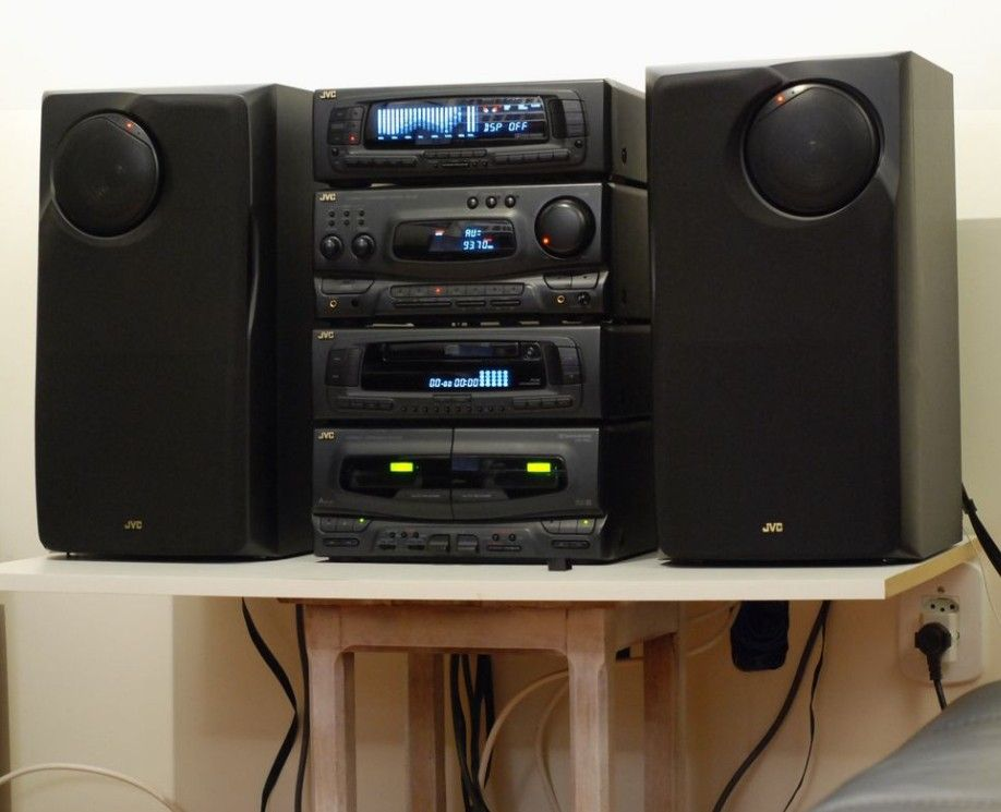 Jvc Component Stereo System Hifi Stereo Hifi Stereo