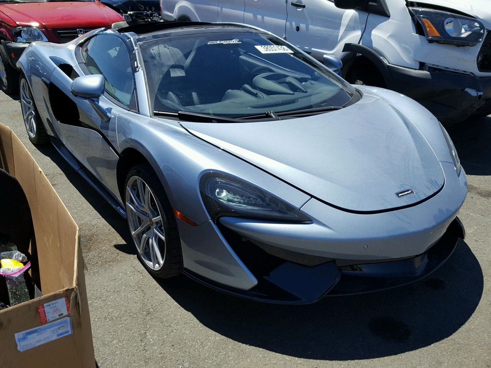 Wrecked Cars For Sale >> Salvage 2018 Mclaren Automotive 570gt Vehicles Salvage
