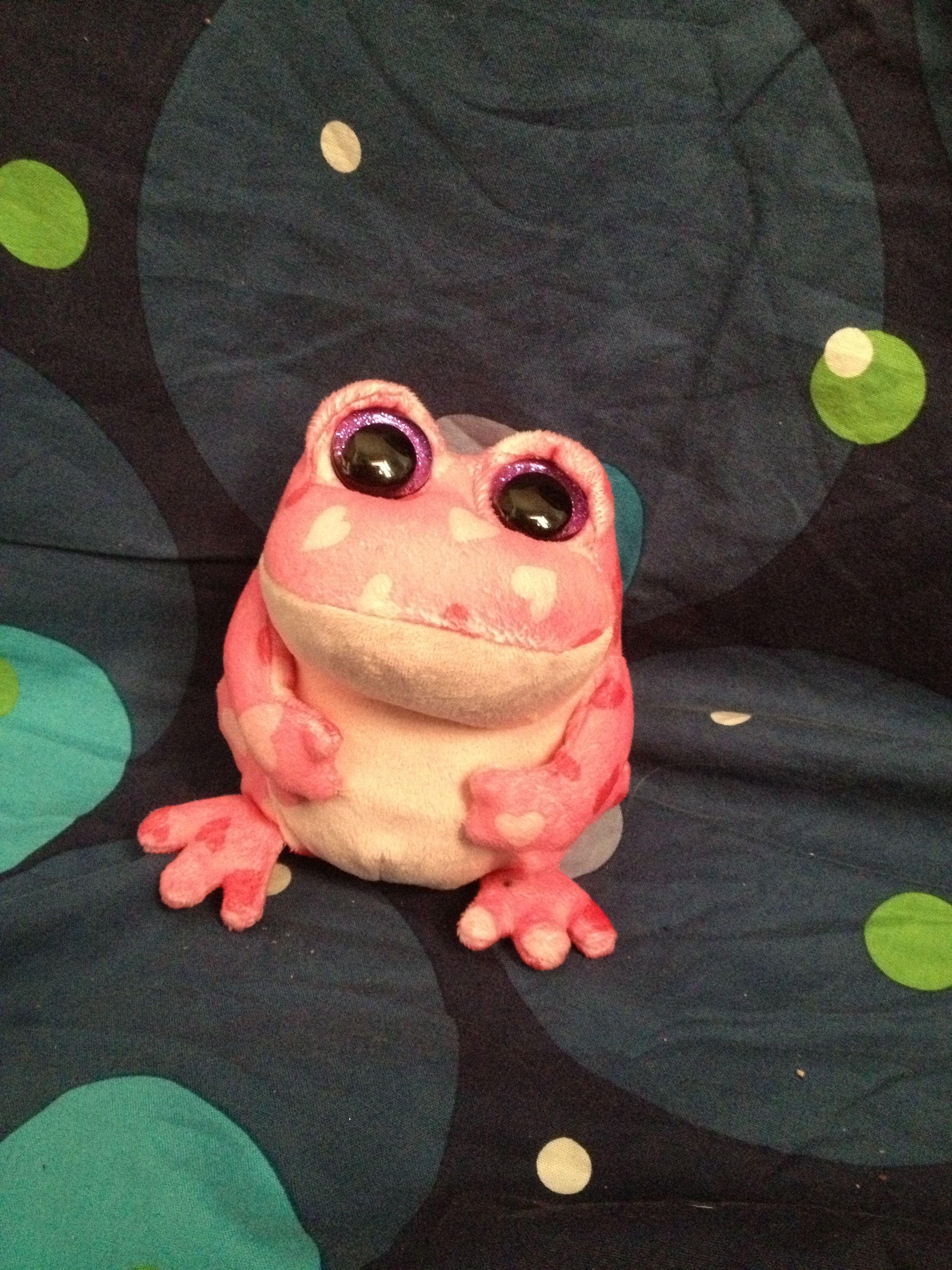 Smitten Beanie Boo From Florida Frog Beanie Boos And Beanie Boo