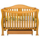 Nicole look at the natural finish.  Found it at Wayfair - Parker 4-in-1 Convertible Crib