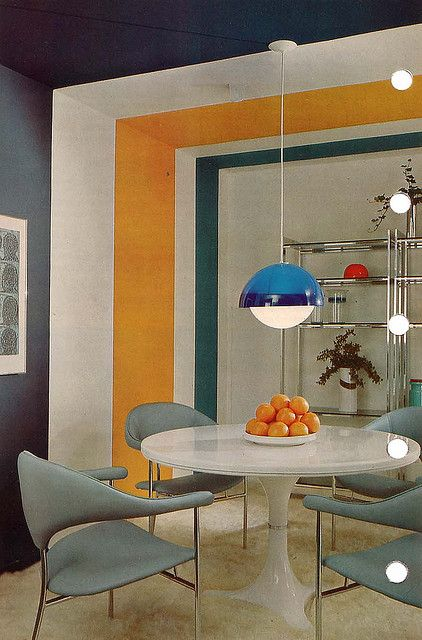 1970s: Interior design shot. | Interiors | Pinterest | 70er, 70 ...
