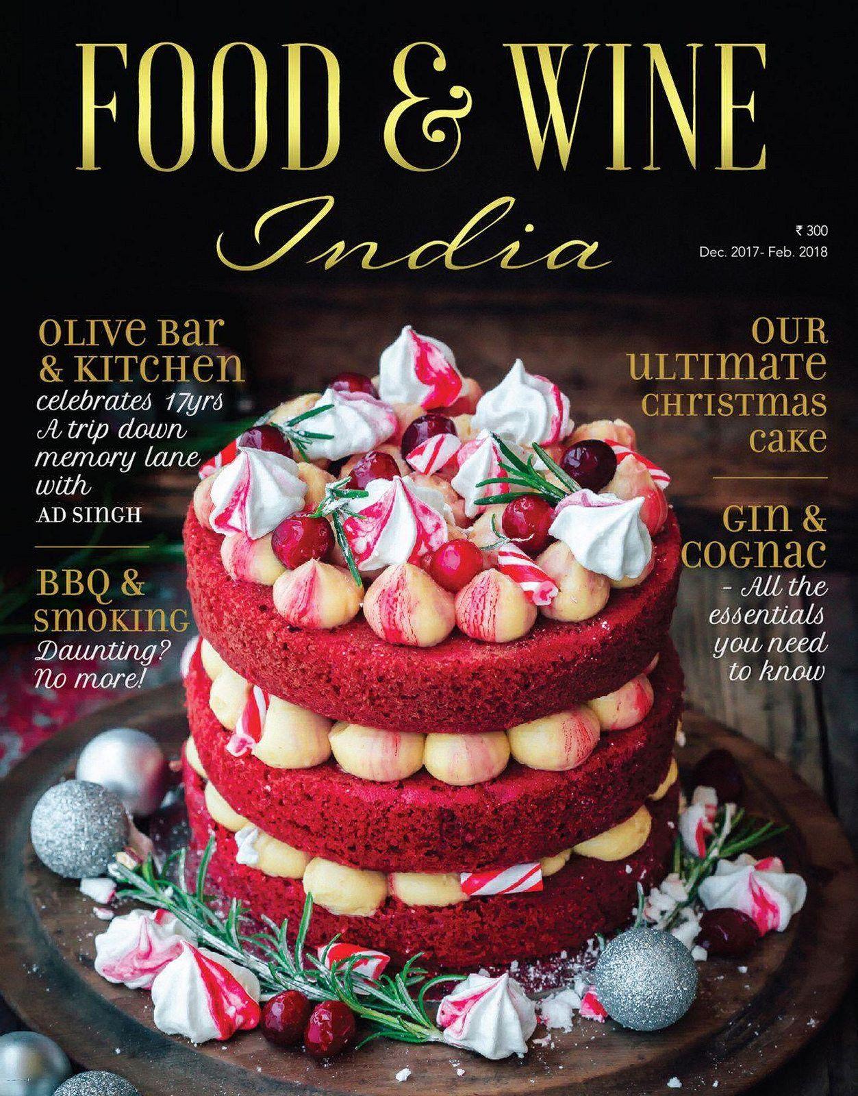 Food India December 2017 Kerst