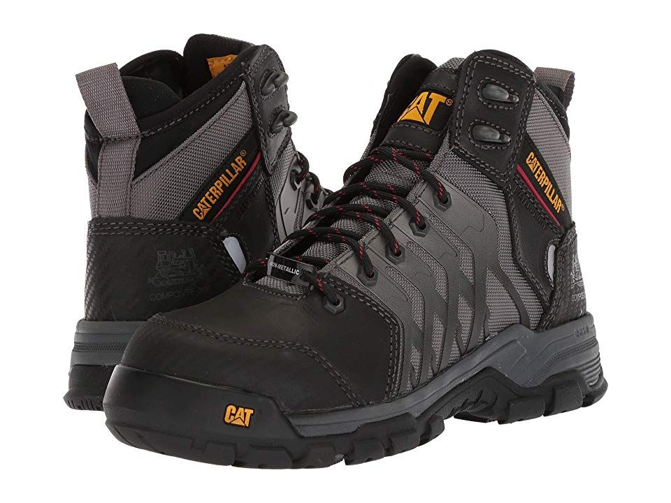7d665688580 Caterpillar Induction Waterproof Nano Toe Men's Work Lace-up Boots ...