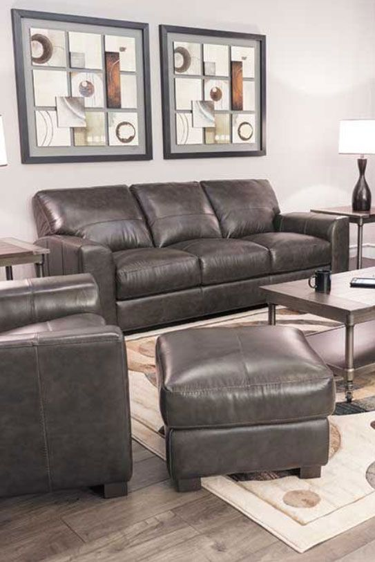 Brilliant Dark Grey Italian All Leather Sofa In 2019 Leather Sofa Caraccident5 Cool Chair Designs And Ideas Caraccident5Info