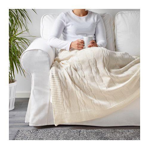 URSULA Plaid - weiß - IKEA Einkaufsliste Pinterest - schlafzimmer wei ikea