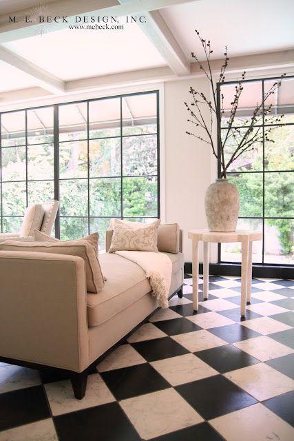 A Classically Glamorous Living Room By M E Beck Interior Design