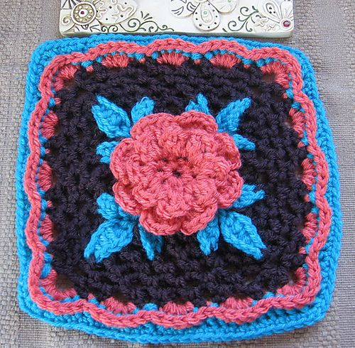 Irish Rose Crochet Pinterest Crochet Granny Squares And Squares