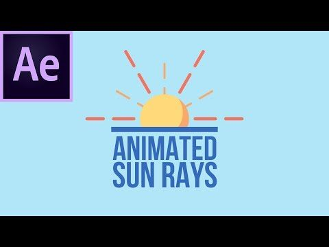 5ca37416a04b 14) How To Create Animated Sun Rays In After Effects - YouTube ...