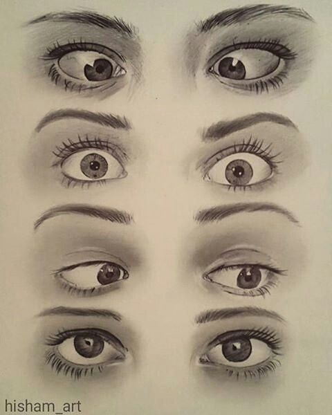 Cool eye study by @hisham_art !! . Make sure to Follow @rtistic_empire !! . Check out also @art.desires