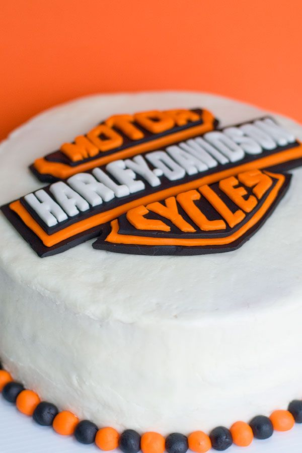 harley davidson birtHday cake IF HE IS GOOD DARYL MIGHT GET ONE OF