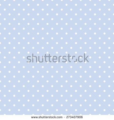 Seamless Repeating Polka Dot Spotty Pattern With White Spots On A Pale Pastel Blue Background Pastel Blue Background Pastel Blue Blue Backgrounds