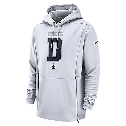 bfa0d13e3 Dallas Cowboys Nike Local Sideline Player Fleece Hoody