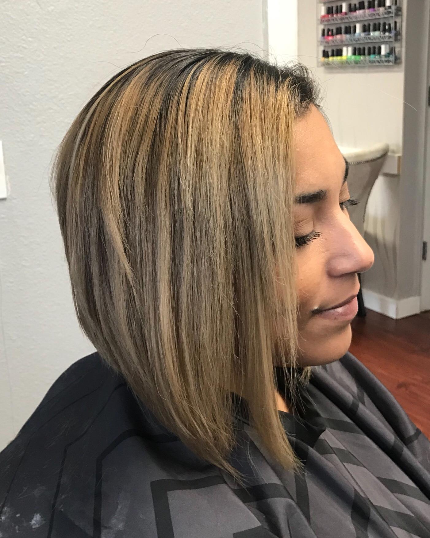 color and haircut haircut and color correction