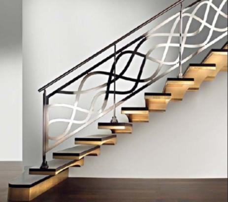25 model railing tangga rumah minimalis terbaru | tangga