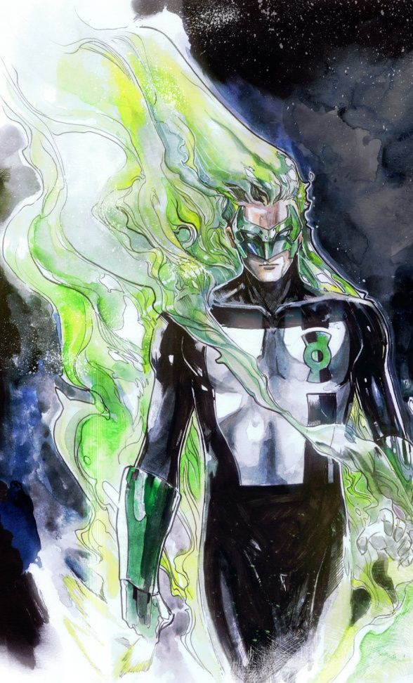 Kyle Rayner by Peter Nguyen