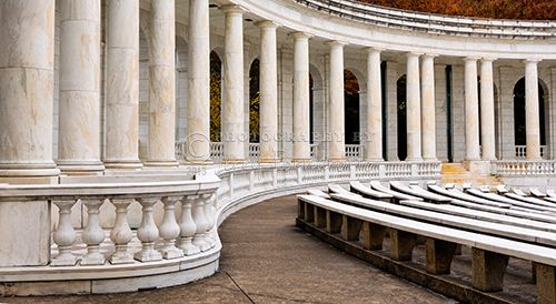 """""""Inside the Memorial Amphitheater"""" This is a copyrighted photo. If you wish to purchase this photo or any other of my fine art prints, please visit my website at; http://jerryfornarotto.artistwebsites.com/  Watermark will be removed from all prints purchased."""