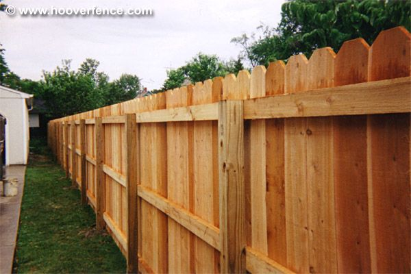 Solid Dog Ear Privacy Wood Fence Panel Pricing Hoover Co