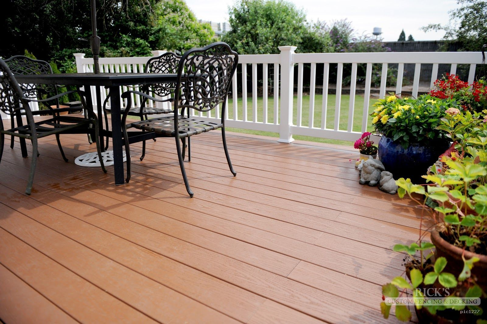 Synthetic Decking For Boats Australia Use Sleepers As A Decking Base Renovation Balcony Decking Singapore With Images Deck Paint Outdoor Flooring Deck