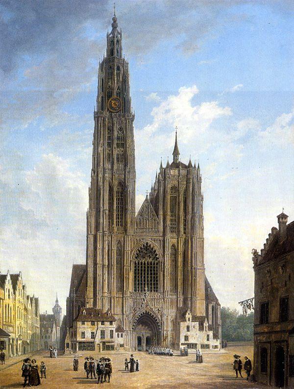 католические церкви в картинах художников это заметно