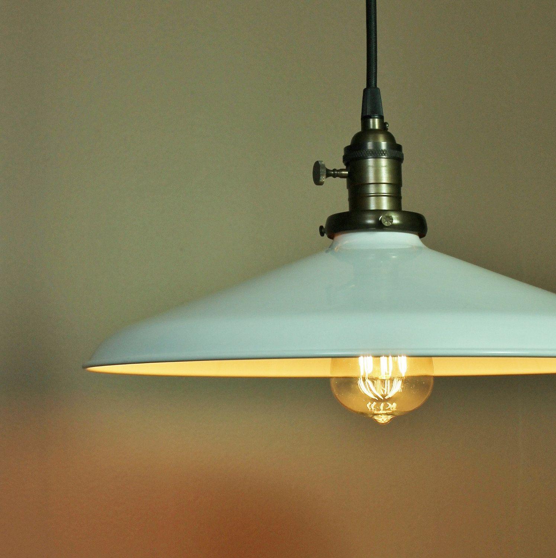 Country Barn Style Kitchen Light Fixtures Amazon Com: Lighting W/ White Porcelain Enamel