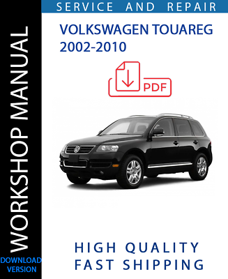 Advertisement Ebay Official Workshop Service Repair Manual Volkswagen Touareg 2002 2010 Wiring Volkswagen Touareg Volkswagen Repair Manuals