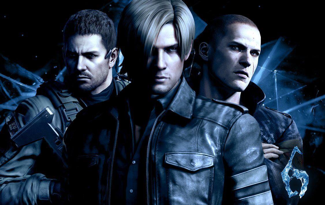 Resident Evil 6 Leon Jake Chris バイオハザード と ゲーム