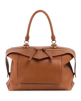 7c613a295c5 Givenchy Sway Small Leather Top-Handle Bag