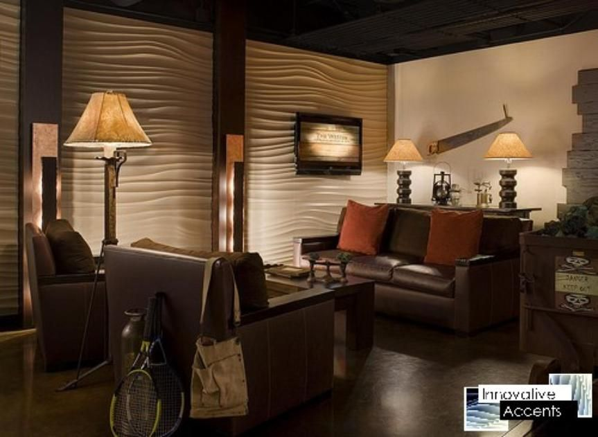 innovative accents 3d wall panels decorative wall panels wave wall panels sculpted - Designer Wall Paneling