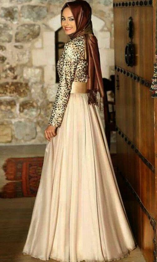 Model Baju Muslim Gamis Untuk Pesta Terbaru