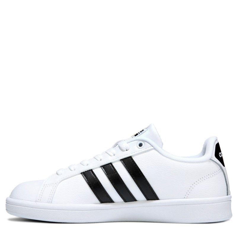 lower price with detailed look new authentic Adidas Women's Cloudfoam Advantage Stripe Sneakers (White ...