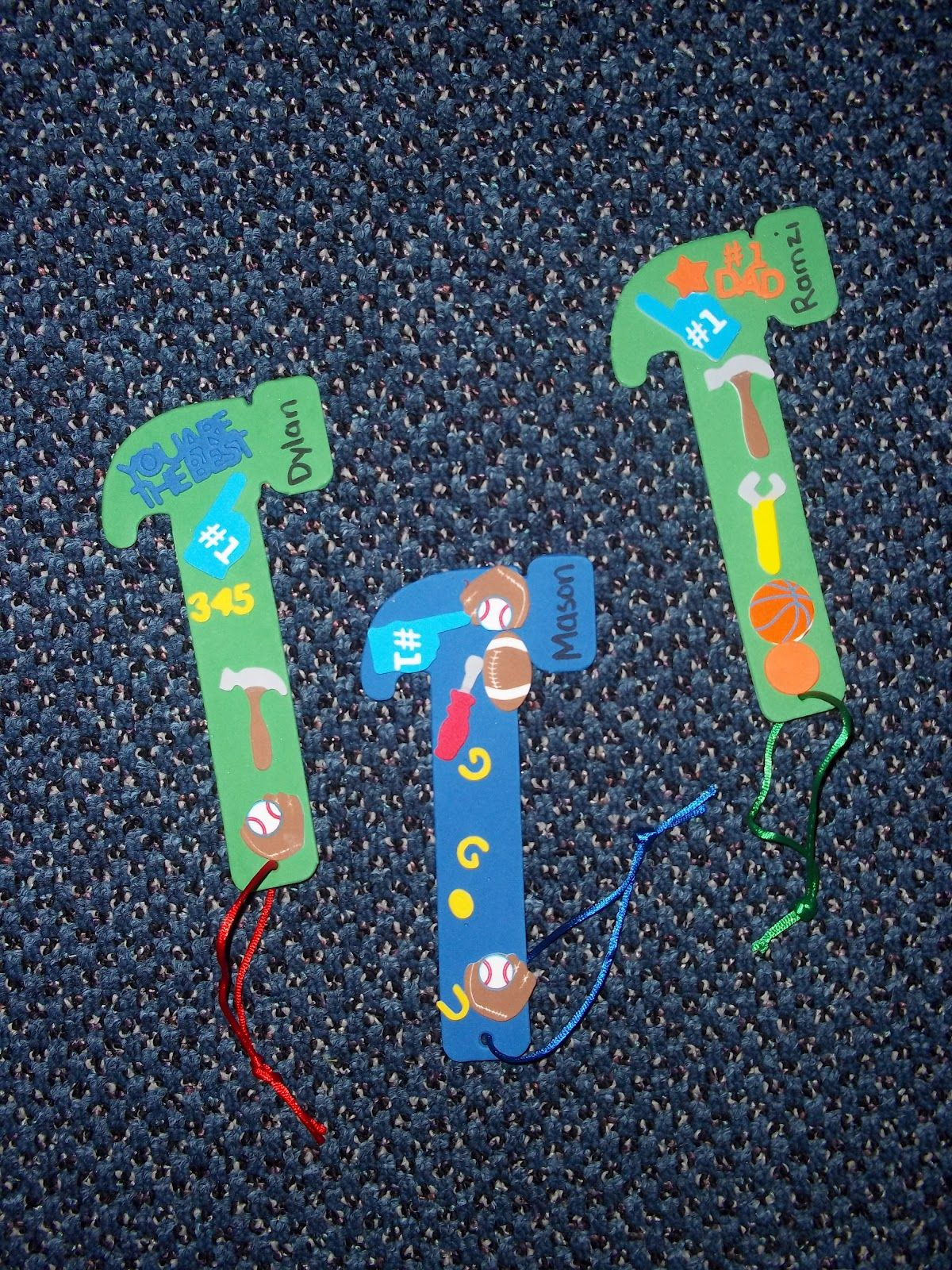 Hammer Bookmark For Fathers Day Iteach Grads Amp Dads