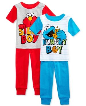 Sesame Street Sesame Squad Toddler Pajama for boy