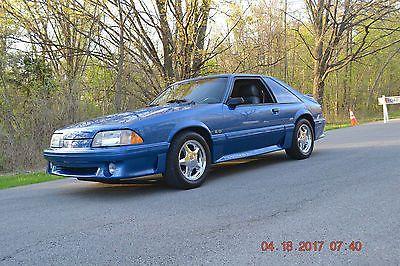 1989 Ford Mustang 2 Door Hatchback Hatchback Mustang Fox Body Mustang