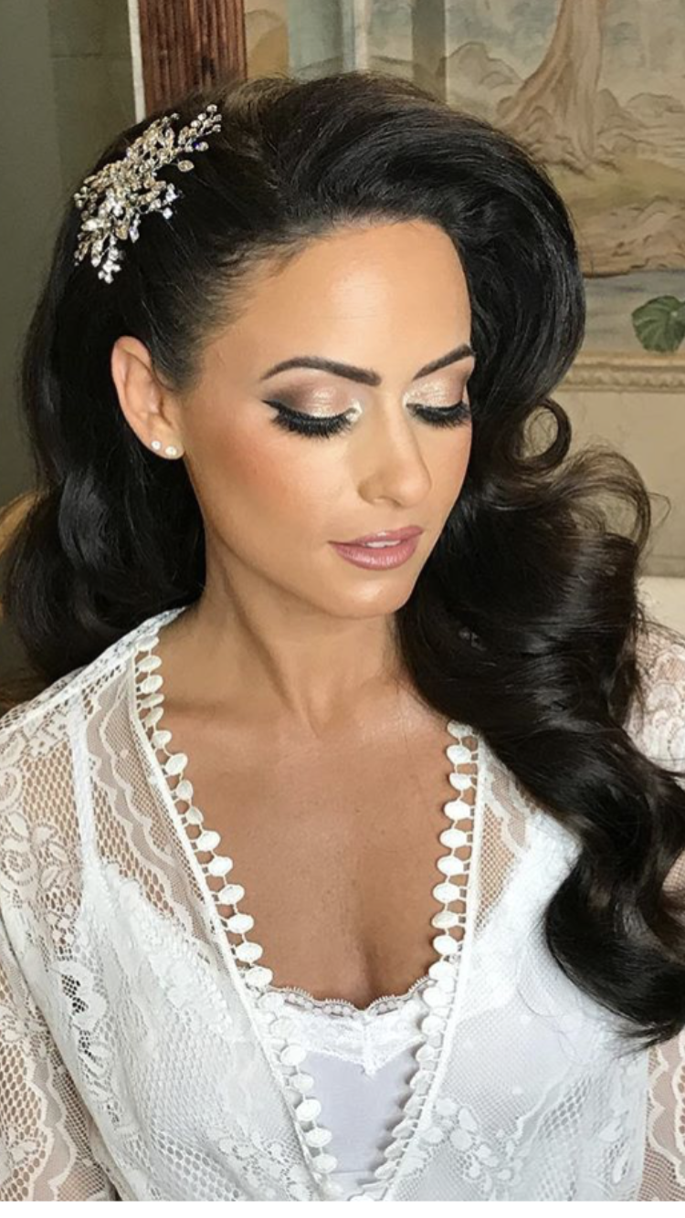 Bridal Makeup Including Lashes in 2020 | Elegant wedding ...