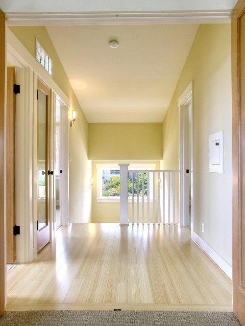 Golden Straw (walls) & Linen White (trim) by Benjamin Moore@Jabet ...