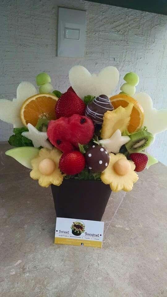Arreglo Frutal En Maceta By Sweet Bouquet En Chihuahua Chih