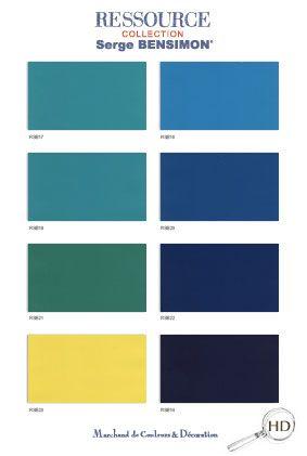 ressource peinture bensimon chambre pinterest ressource couleurs et nuance couleur. Black Bedroom Furniture Sets. Home Design Ideas