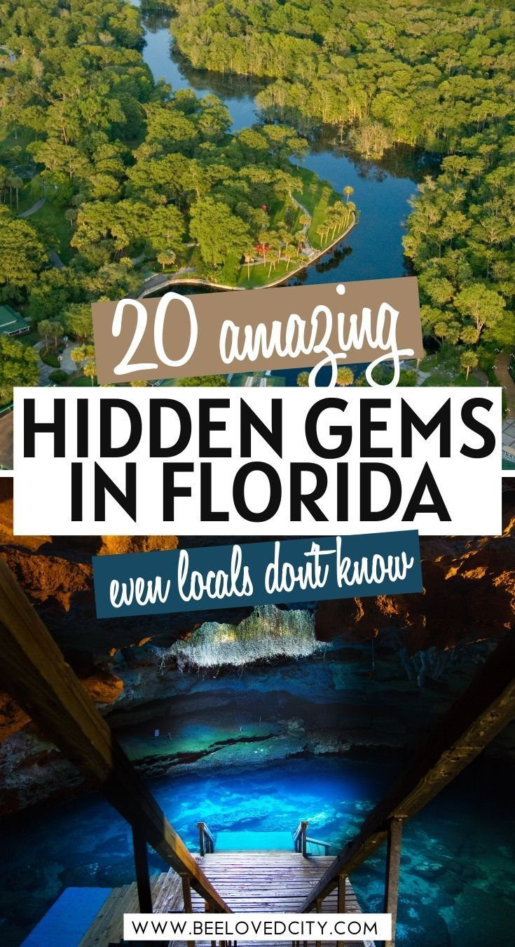 20 Most Beautiful Hidden Gems In Florida Beeloved City Florida Travel Guide Florida Travel Best Places To Travel
