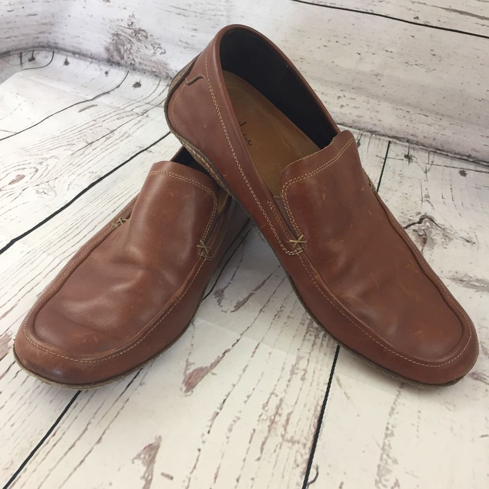 c8c88ee37ba Men s COLE HAAN Brown Leather G SERIES NIKE AIR Driving Loafers Size 13 M  Shoes  ColeHaan  DrivingMoccasins
