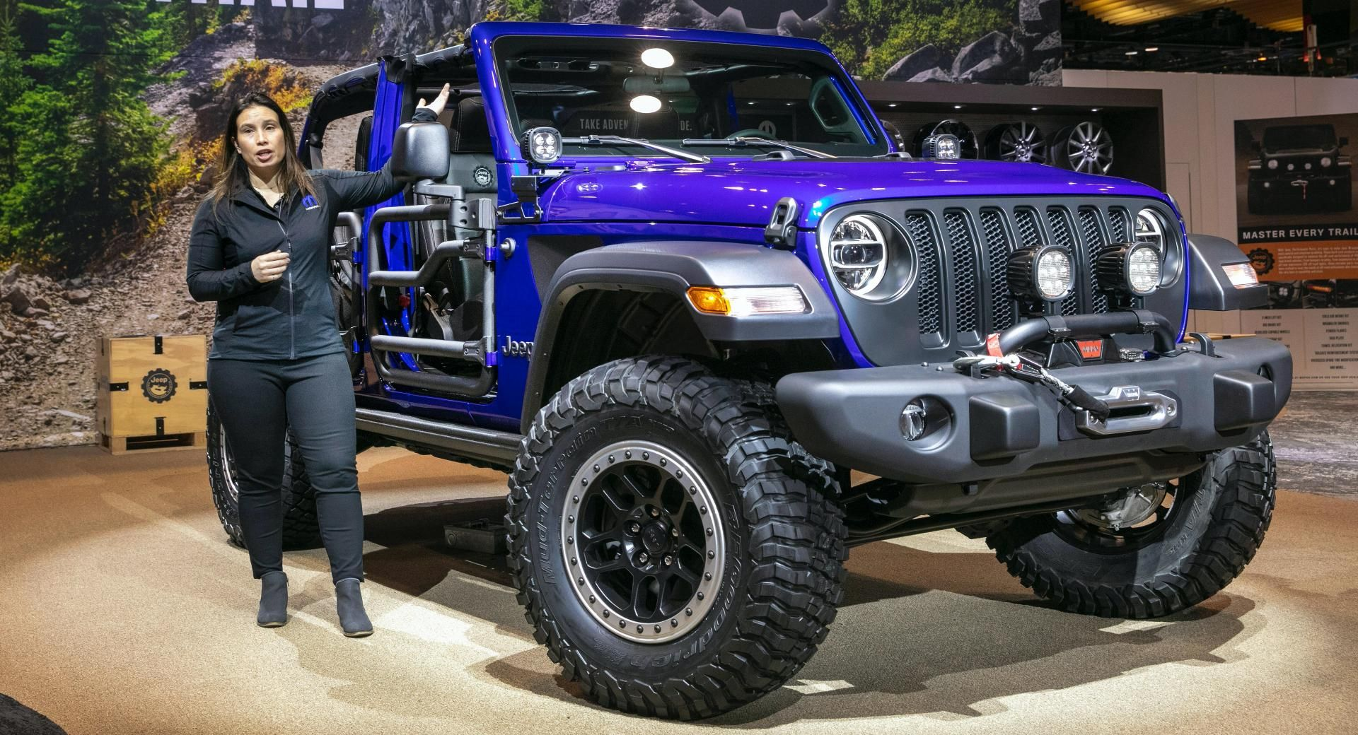 2020 Jeep Wrangler Jpp 20 Limited Edition Is High On Mopar S Jeep