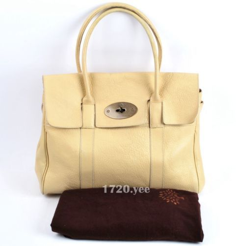 ... netherlands mulberry bayswater vanilla leather large tote handbag ebay  c84d8 d5387 ... 0dc6b69c2506b