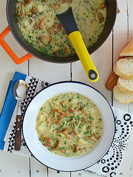 Zupa z kurek - nie znam lepszej :) - etap 8