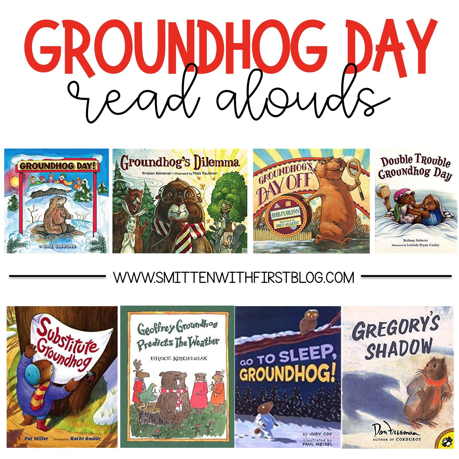 Groundhog Day Activities And Read Alouds For Kindergarten