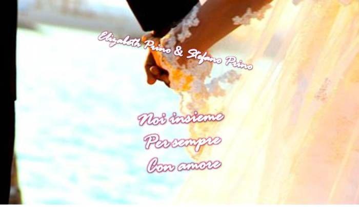 NOI INSIEME <3 PER SEMPRE <3 CON AMORE <3 IN YOUR LIFE FOREVER <3 LOVE OF MY LIFE STEFANO <3 TU IL MIO SPOSO <3 IO TUA SPOSA <3  INSIEME  Elizabeth Prino & Stefano Prino <3 <3  I LOVE YOU ALL <3